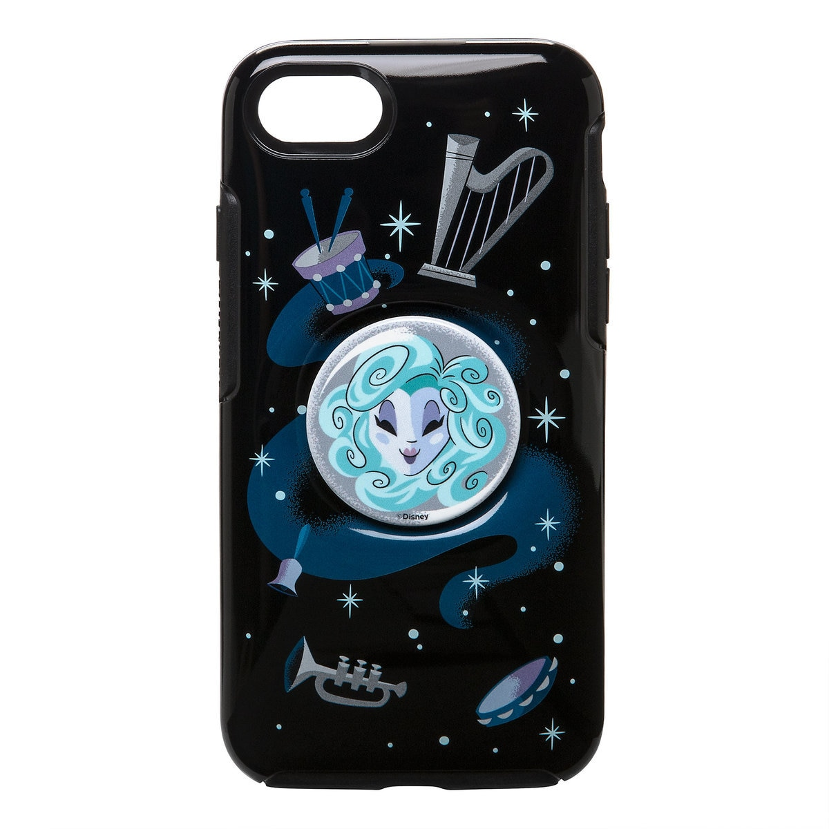 cheap for discount 5579f 4a46a Madame Leota OtterBox iPhone 8/7 Case with PopSockets PopGrip - The Haunted  Mansion