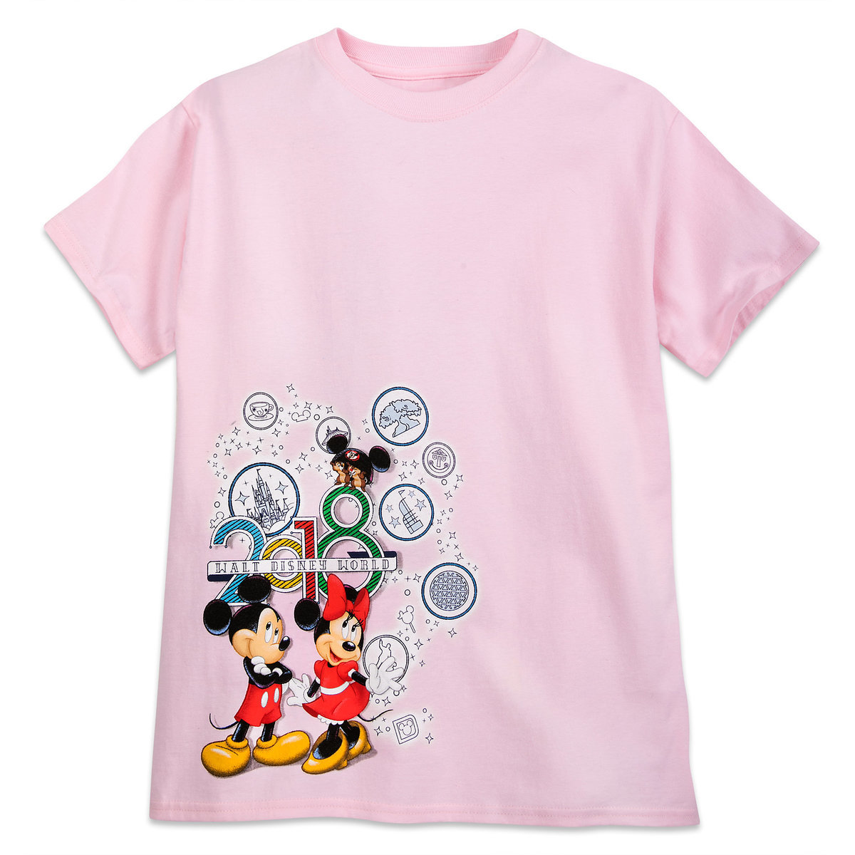 4fd4ff232 Product Image of Mickey Mouse and Friends T-Shirt for Kids - Walt Disney  World