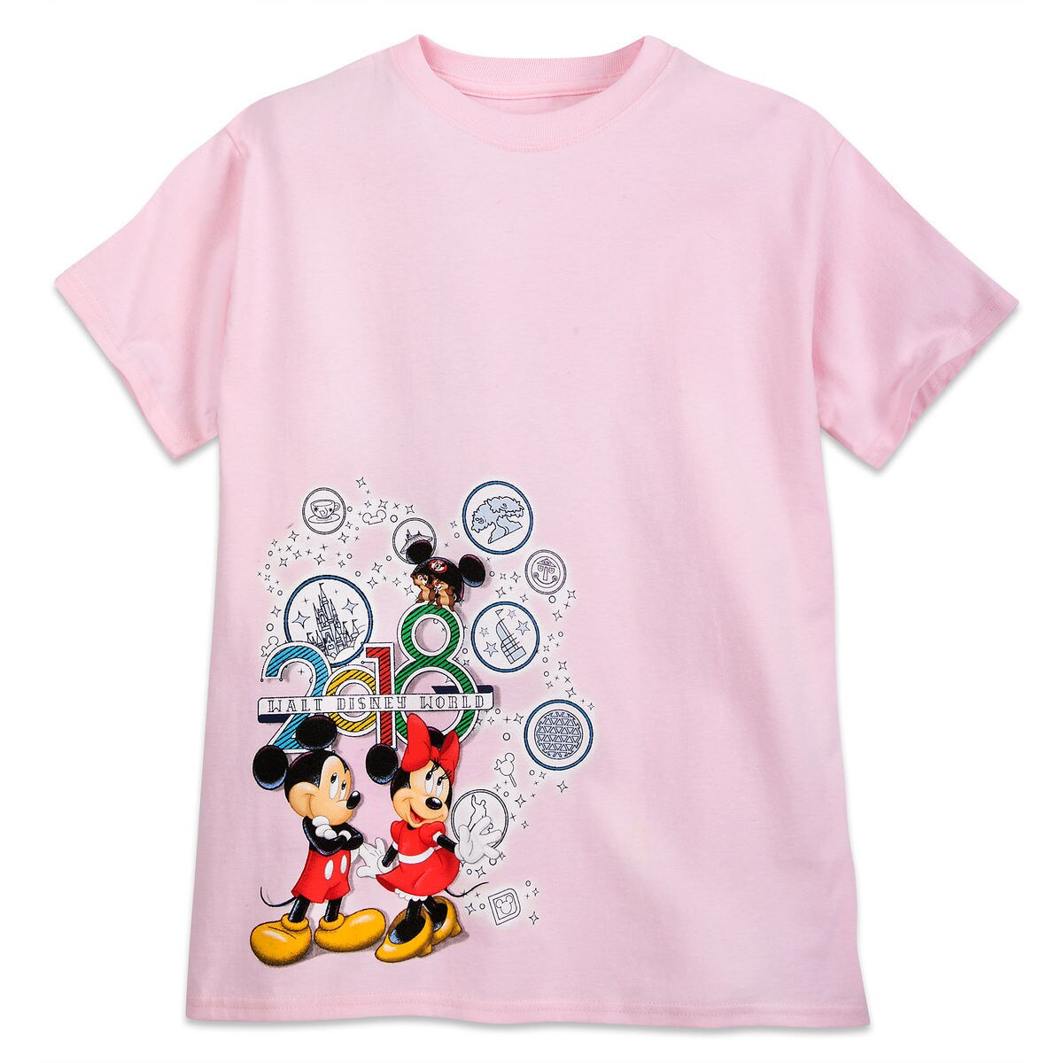 Product Image Of Mickey Mouse And Friends T Shirt For Kids