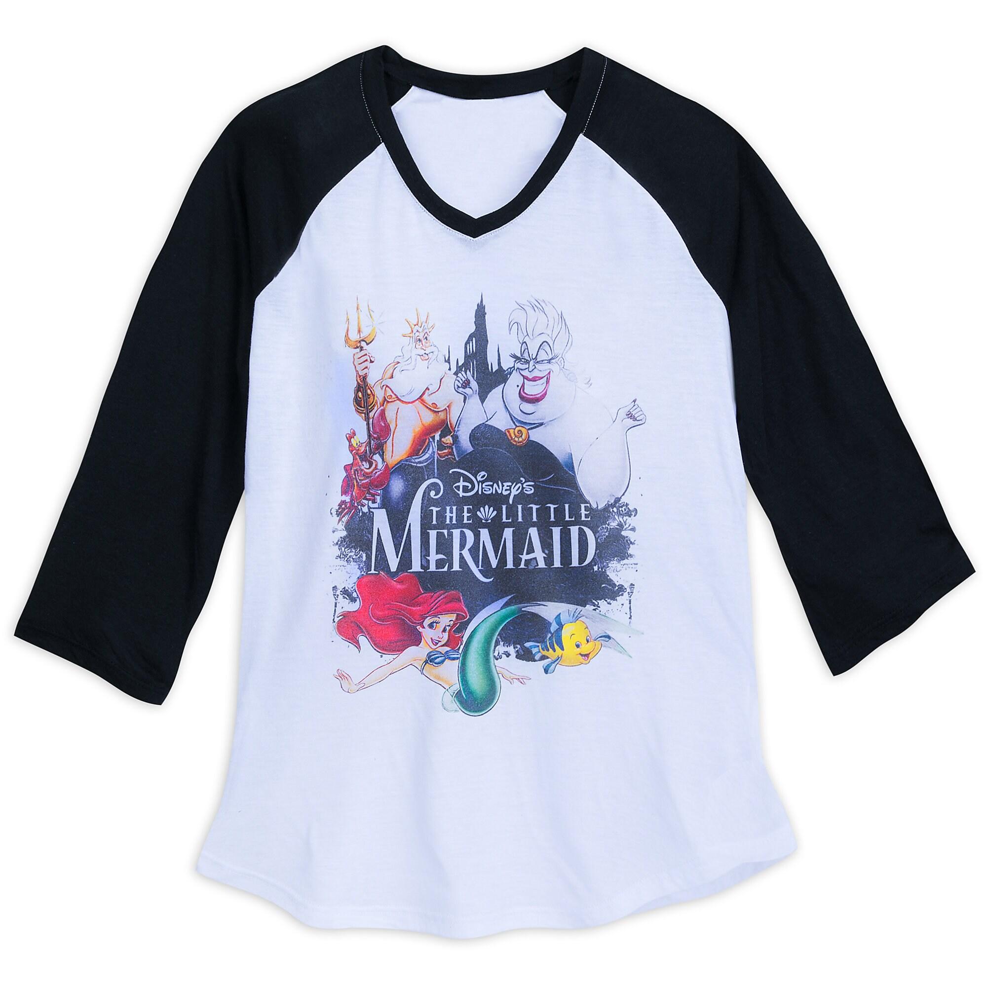 The Little Mermaid Raglan T-Shirt for Women