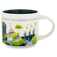 Image of Disney's Hollywood Studios Starbucks YOU ARE HERE Mug # 1