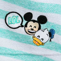 Image of Mickey Mouse and Friends Emoji Swim Cover-Up for Girls # 3