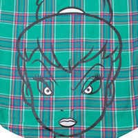 Image of Tinker Bell Flannel Shirt for Adults by Cakeworthy # 3
