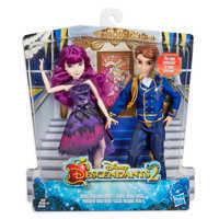 Image of Mal and Ben Royal Cotillion Couple Doll Set - Descendants 2 # 2