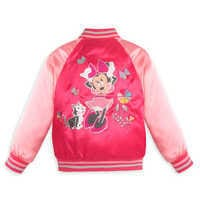 Image of Minnie Mouse Varsity Jacket for Girls - Personalizable # 2