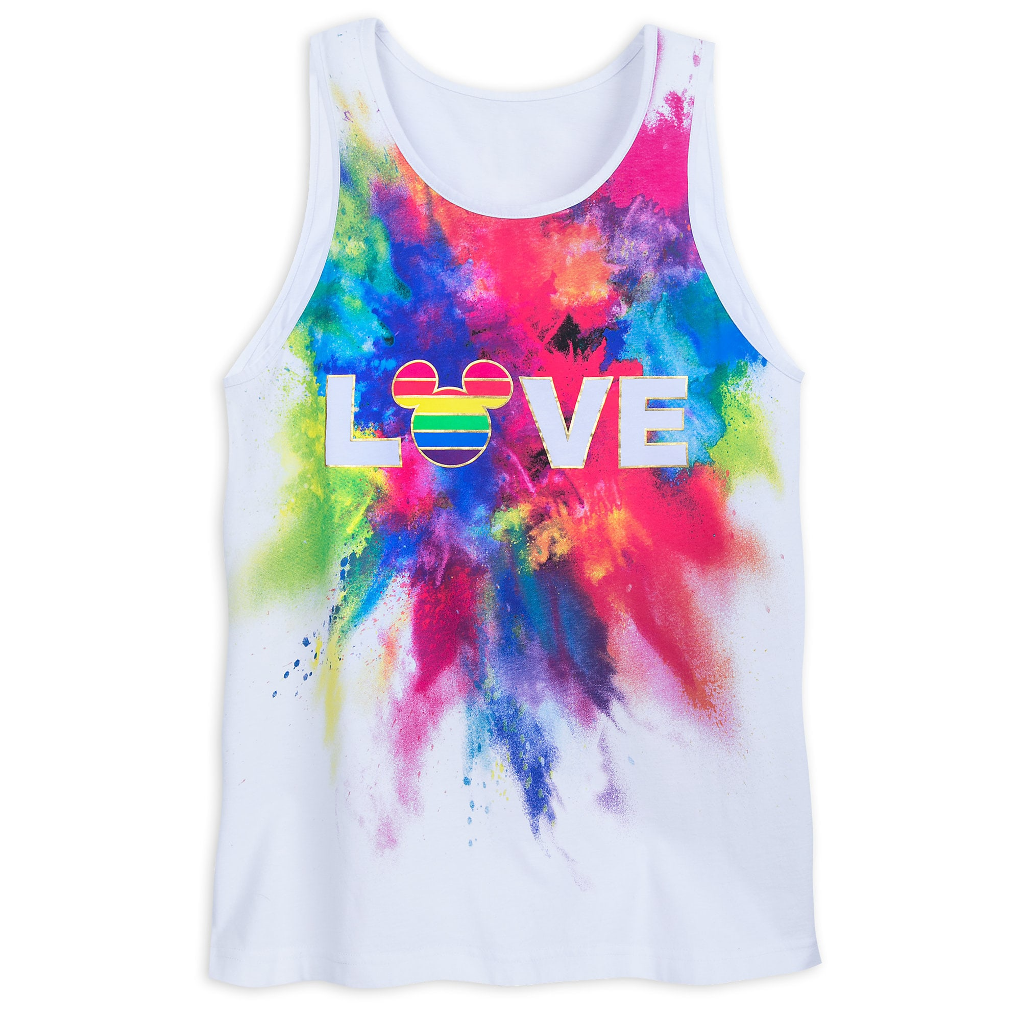 Product Image of Rainbow Mickey Collection Tank Top for Adults # 1