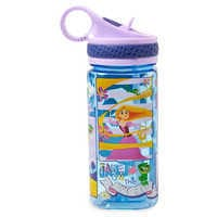Image of Rapunzel Water Bottle with Built-In Straw # 1