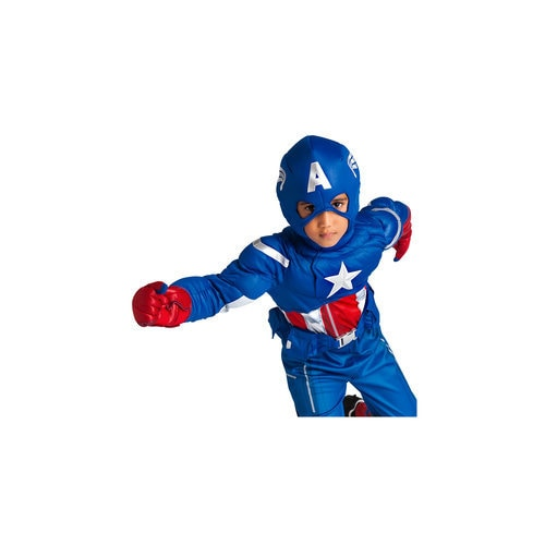 Captain America Deluxe Costume for Kids