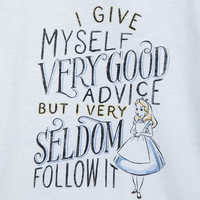 Image of Alice in Wonderland T-Shirt for Women - Oh My Disney # 3