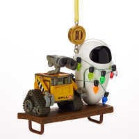 Image of WALL•E and E.V.E. Legacy Sketchbook Ornament - Limited Release # 2
