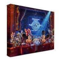 Image of ''90 Years of Mickey'' Gallery Wrapped Canvas by Thomas Kinkade Studios # 2