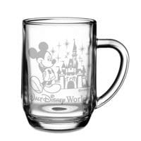 Image of Walt Disney World Castle Mickey Mouse Mug by Arribas - Personalizable # 1