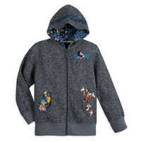 Image of Mickey Mouse and Friends Knit Hoodie for Boys - Walt Disney World 2019 # 1