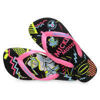 Image of Mickey Mouse Neon Flip Flops for Adults by Havaianas - 1980s # 4