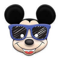 Image of Mickey Mouse On the Go Paper Masks # 1