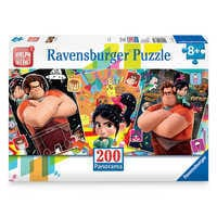 Image of Wreck-It Ralph and Vanellope Panorama Puzzle by Ravensburger - Ralph Breaks the Internet # 1