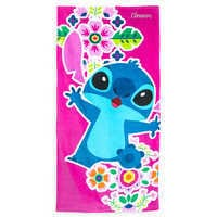 Image of Stitch Beach Towel - Personalized # 1