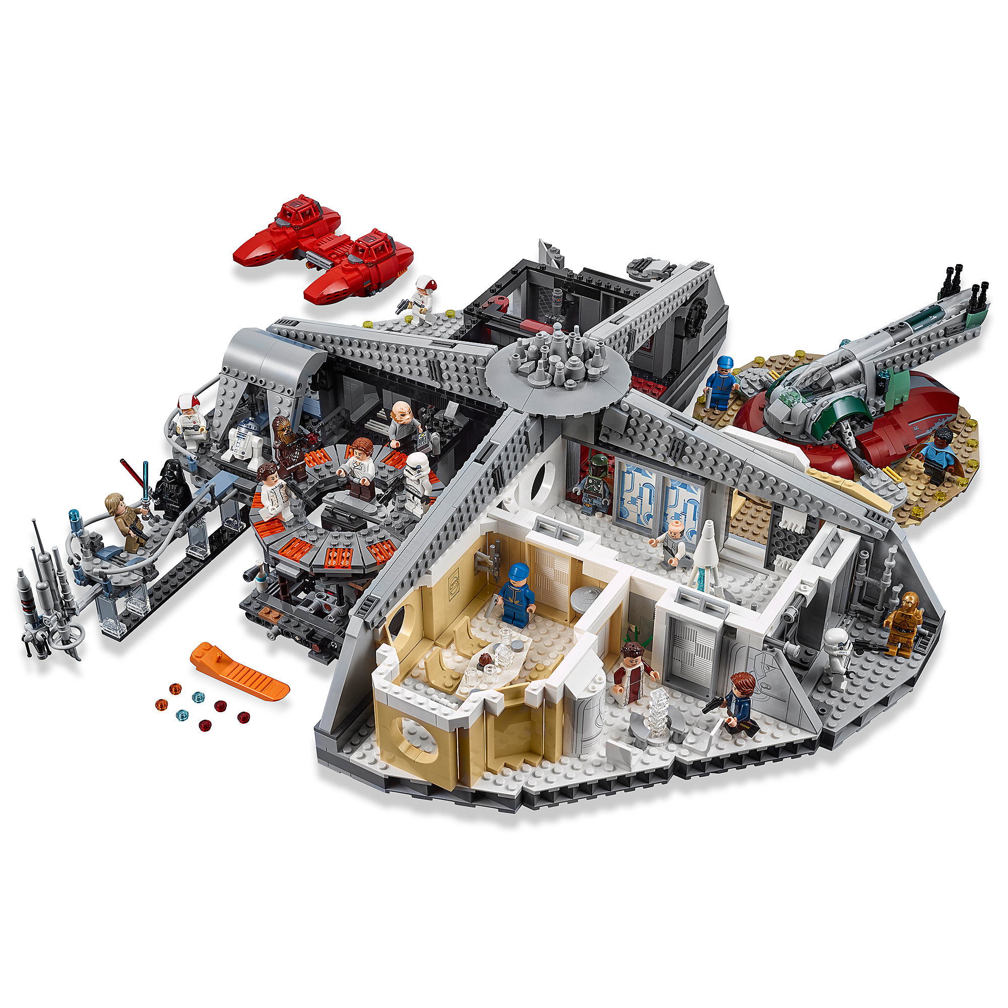 Betrayal at Cloud City Playset by LEGO - Star Wars: The Empire Strikes Back