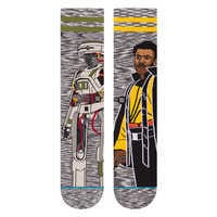 Image of Lando Calrissian and L3-37 Socks by Stance for Adults - Solo: A Star Wars Story # 2