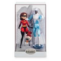 Image of Elastigirl, Jack-Jack, and Frozone Doll Set - Disney Designer Collection PIXAR Animation Studios Series - Limited Edition # 7