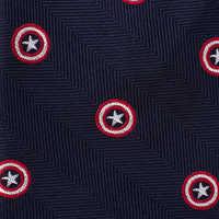 Image of Captain America Silk Tie # 3