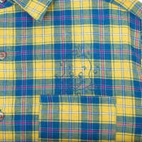 Image of Flounder Flannel Shirt for Adults by Cakeworthy - The Little Mermaid # 4