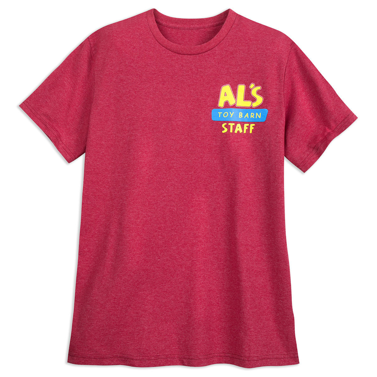 Product Image of Al s Toy Barn Staff T-Shirt for Men - Toy Story   26e679358266c