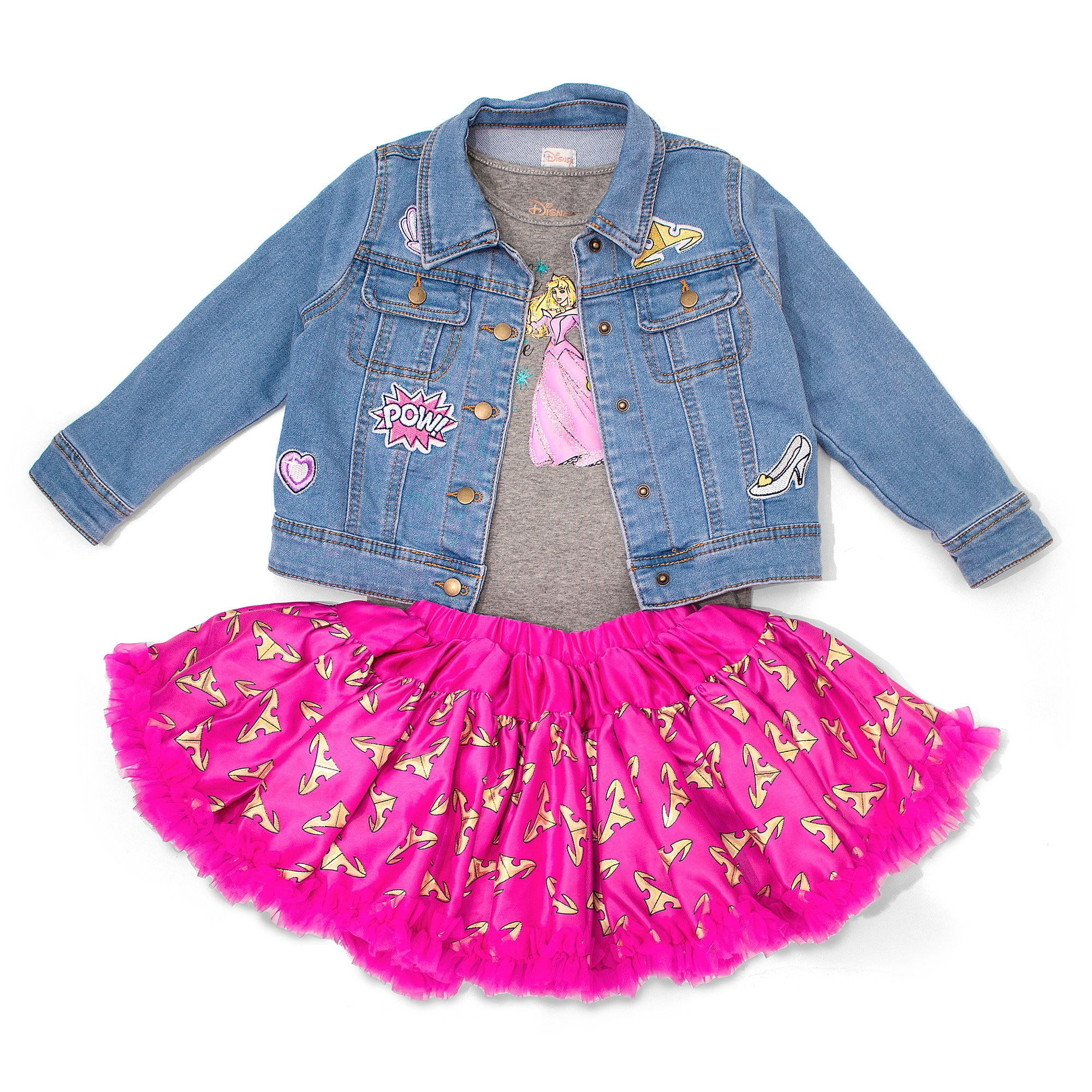 Aurora Three-Piece Set for Girls by Tutu Couture