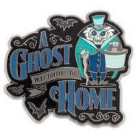 Image of Hatbox Ghost Pin - The Haunted Mansion # 1