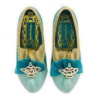 Image of Jasmine Costume Shoes for Kids # 3