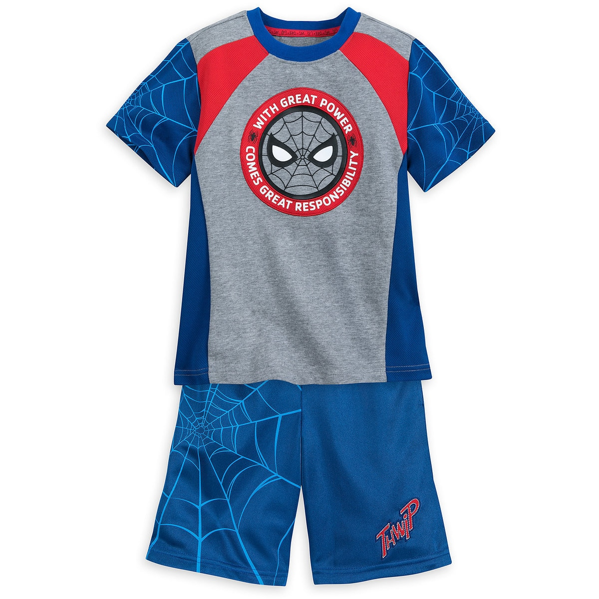 c6c9960d8781f Product Image of Spider-Man T-Shirt and Reversible Shorts Set for Kids #