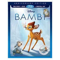 Image of Bambi Anniversary Edition Blu-ray Combo Pack # 1