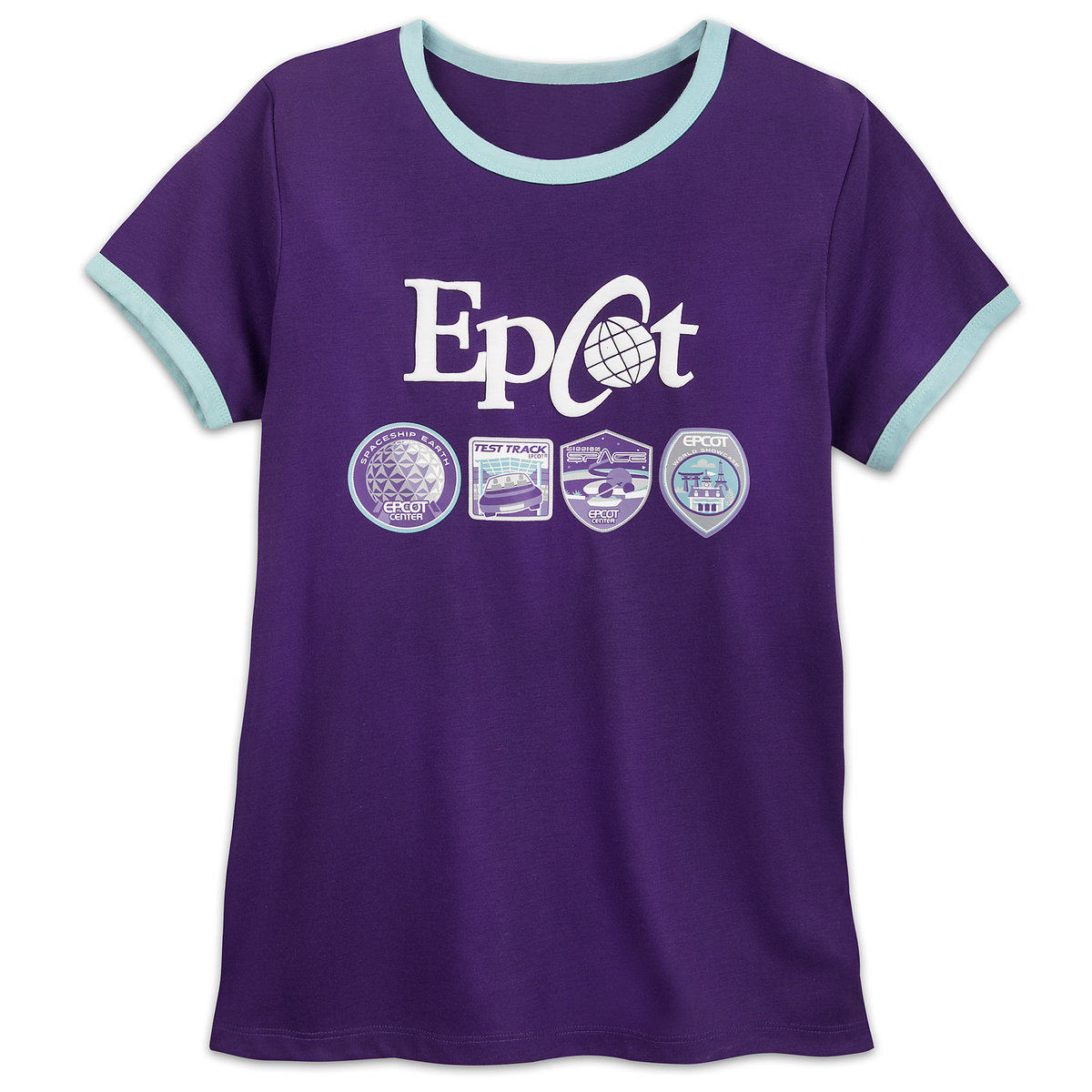 6665348eff9002 Product Image of Epcot Ringer T-Shirt for Women # 1