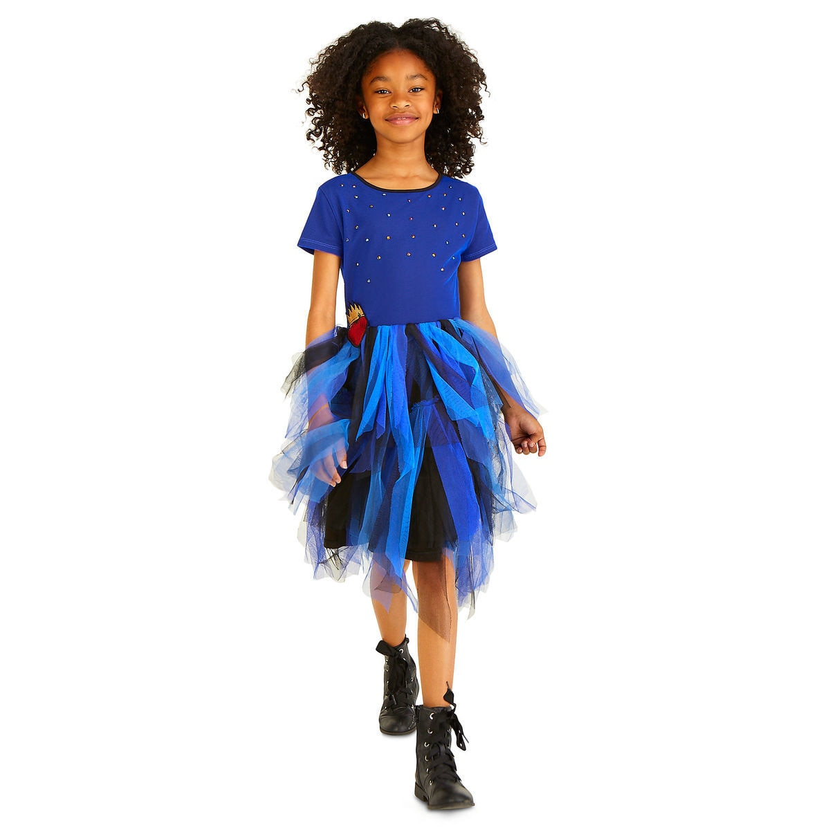 Evie Woven Dress For Girls Descendants Shopdisney