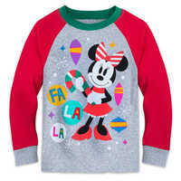 Image of Minnie Mouse Holiday PJ Set for Girls # 2