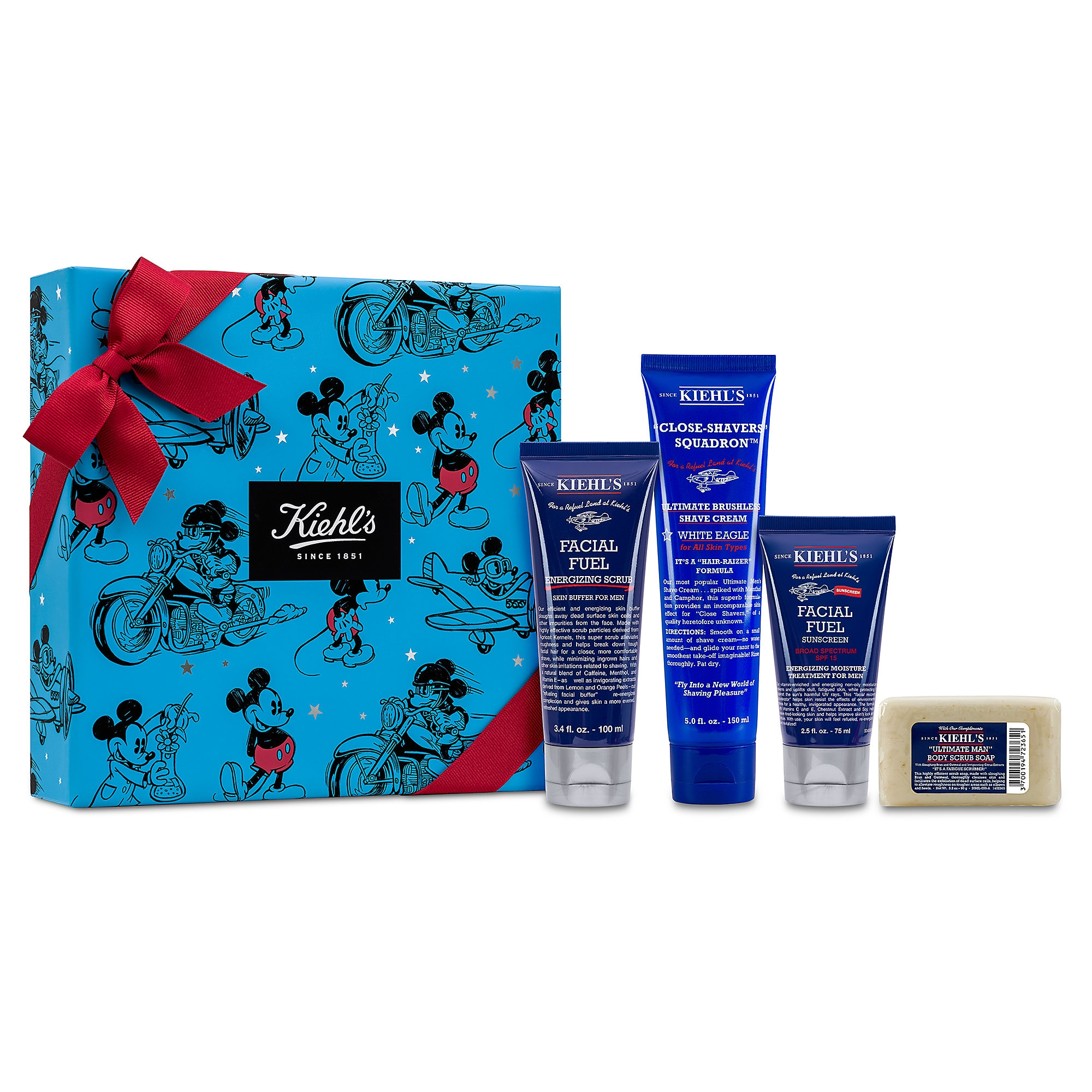 Mickey Mouse Ultimate Man Refueling Set by Kiehl's