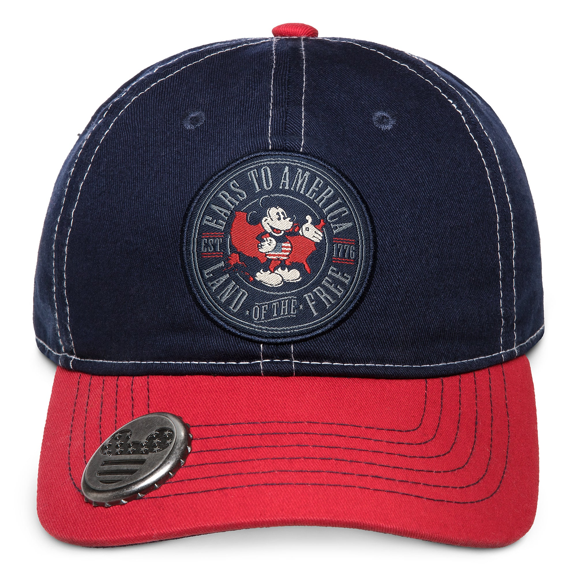14c03bf9 Mickey Mouse Americana Baseball Cap with Bottle Opener for Adults – Walt Disney  World available online