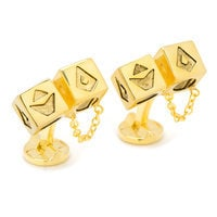 Image of Solo: A Star Wars Story Dice Cufflinks # 2
