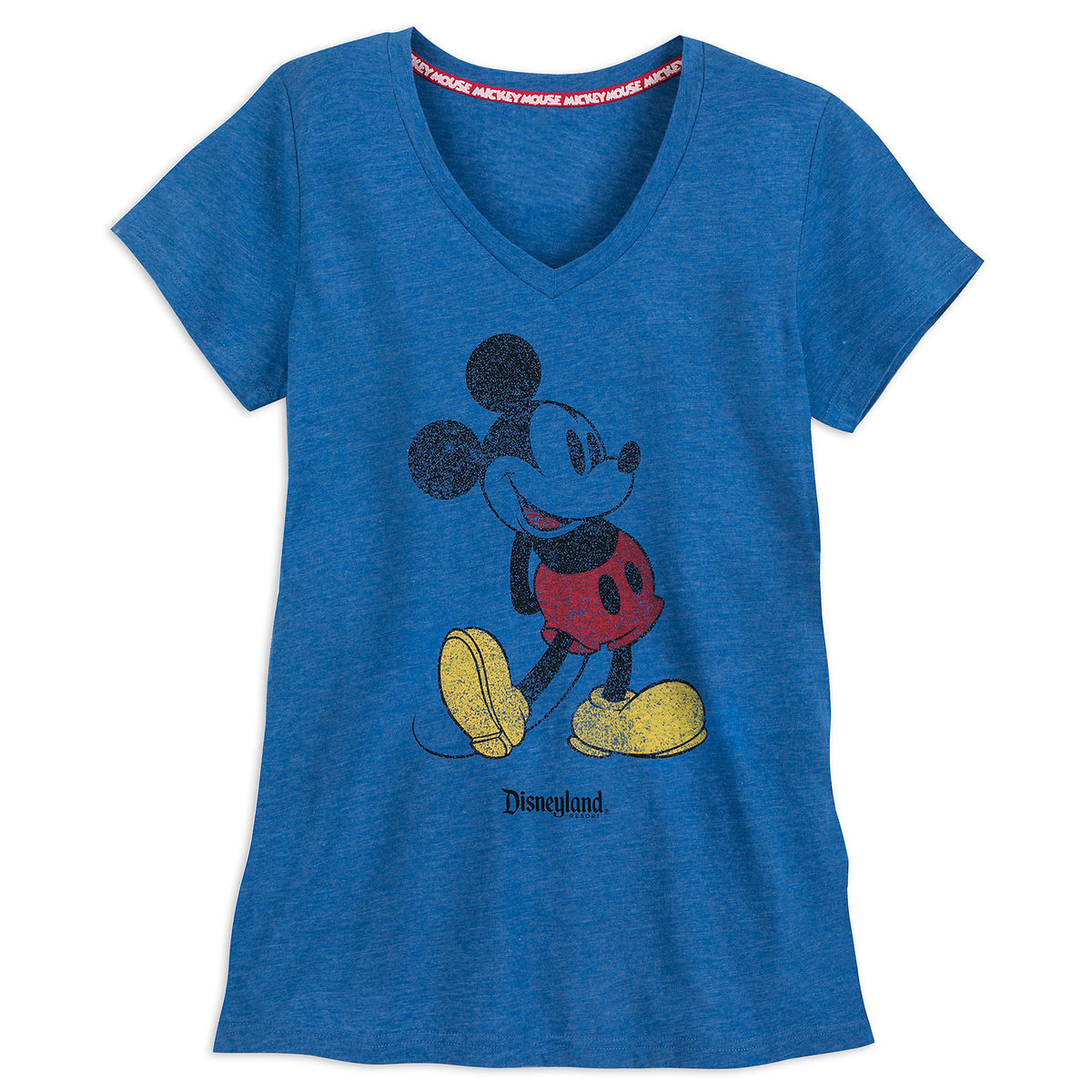 b592ae6d1f4 Product Image of Mickey Mouse Classic T-Shirt for Women - Disneyland - Blue