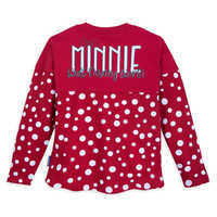 Image of Minnie Mouse Polka Dot Spirit Jersey for Kids - Walt Disney World # 2