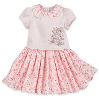 Miss Bunny Knit Dress with Headband for Baby