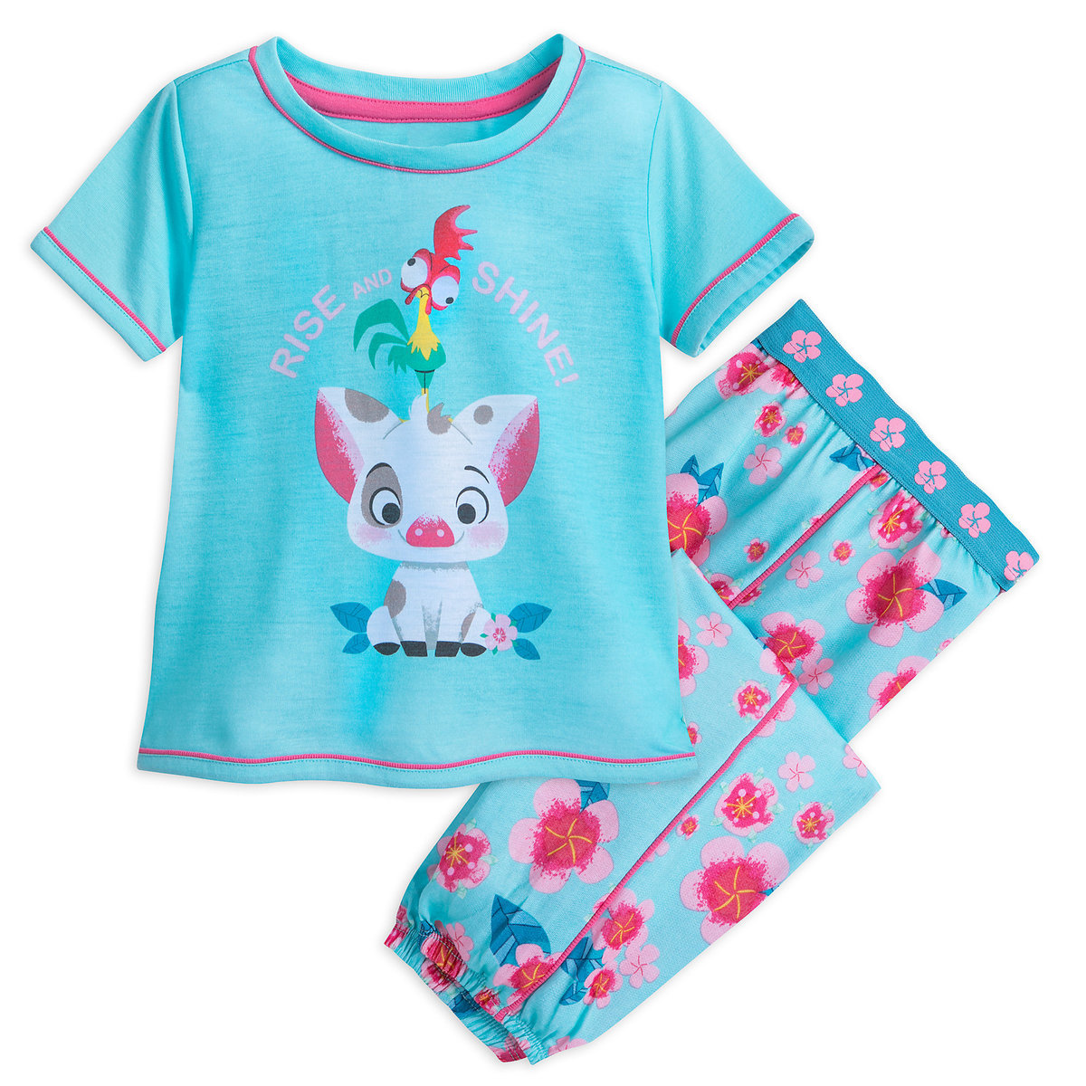 Pua and Hei Hei PJ Set for Girls - Moana | shopDisney