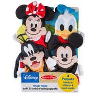 Image of Mickey Mouse and Friends Soft and Cuddly Hand Puppets by Melissa & Doug # 6