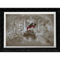Pirates of the Caribbean ''Thar' Be Pirates in These Parts'' Limited Edition Giclée by Noah