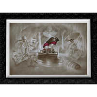 Image of Pirates of the Caribbean ''Thar' Be Pirates in These Parts'' Limited Edition Giclée by Noah # 1