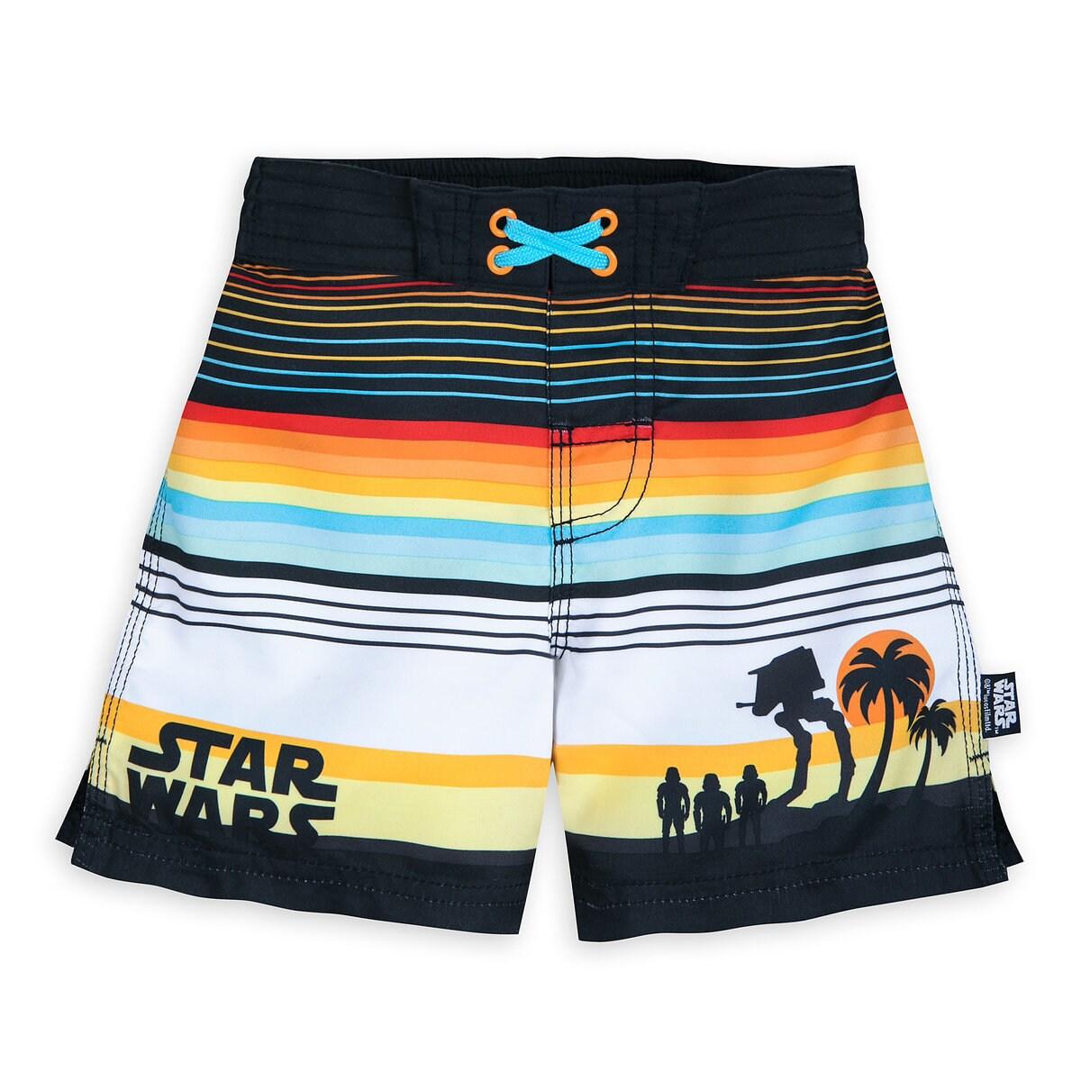 37b4bda9c0 Product Image of Star Wars Swim Trunks for Boys # 1