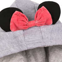 Image of Minnie Mouse Hooded Denim Jacket for Girls # 5