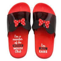 Image of Minnie Mouse Slides for Kids - Red # 2