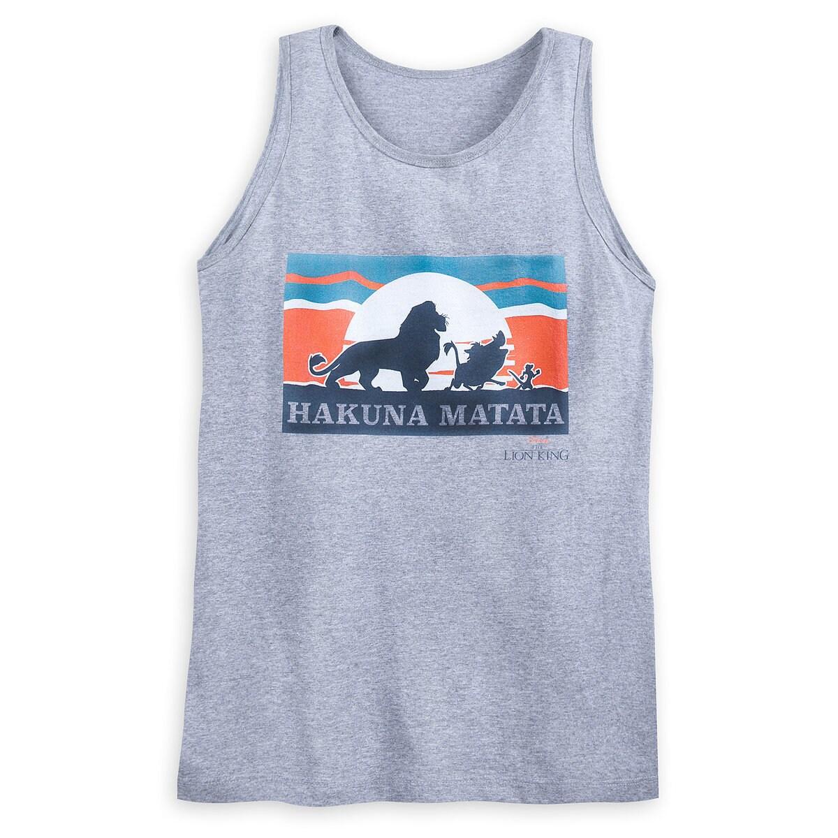 0ba174e2efd53a Product Image of Lion King   Hakuna Matata   Tank Top ...