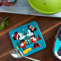 Image of Mickey and Minnie Mouse Holiday Trivet # 3